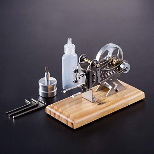 AMITD Stirlingmotor Bausatz Vakuum Sterling Motoren DIY Stirlingmotor Modell Stirling Engine Kit Für Technikinteressierte Physik-Experiment Bastler Kreatives Desktop-Spielzeug