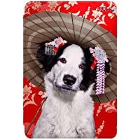CoverYours Pets Factor - Funda Smart Cover para iPad Mini, diseño de perro con sombrilla