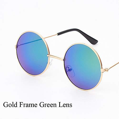 LAMAMAG Sonnenbrille Spiegel Vintage Runde Baby Girl Boy Sonnenbrillen Persönlichkeit Coole Sonnenbrille Eyewear Decoration Uv400,8