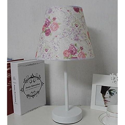 Dormitorio moderno simple moda mesita lámpara creativa decoración cálida sala de estar mesa