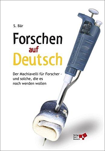 Buchcover: Forschen auf Deutsch