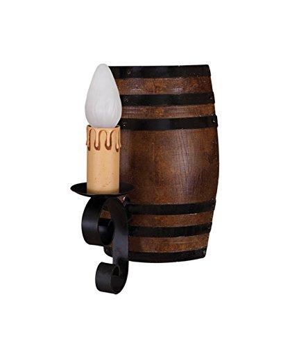 Wandleuchte mit Barrel 1Licht (Composite Barrel)