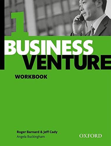 Business Venture 1 Elementary: Business Venture 1. Workbook por Roger Barnard