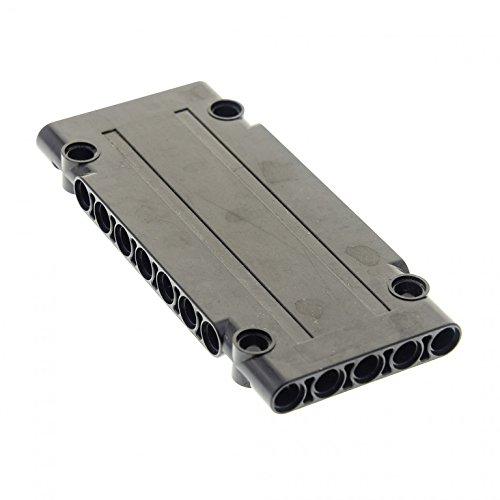 1 x Lego Technic BAU Platte Panele schwarz 5x11x1 Verkleidung Set 9398 10227 42069 8081 42000 8041 42030 70165 4566243 64782