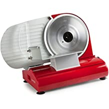 Domo DO522S Eléctrico 200W Rojo rebanadora - Cortafiambres (Rojo, 370 mm, 255 mm