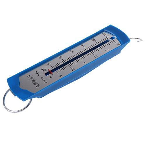 Analysisty 1 N//100 g Newton Messger/ät Kraftmessger/ät Feder-Dynamometer Feder Dual-Skaled Balance f/ür Physikalisches Experiment 21x2.5x2.5cm 1N