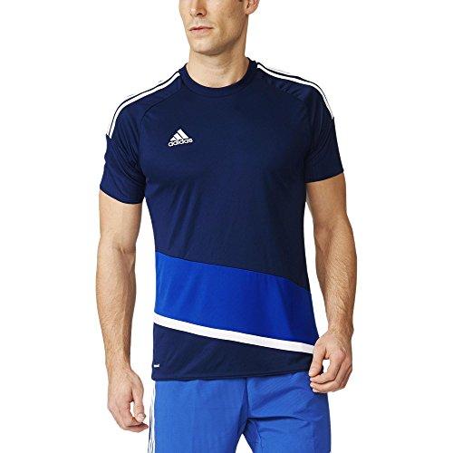 adidas Herren T-Shirt Regi 16 Jsy Trikot Dark Blue/White/Bold Blue