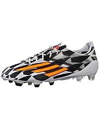 low priced c4364 1675e Adidas F50 adizero FG (WC) Fussballschuhe running white-neon orange-black -
