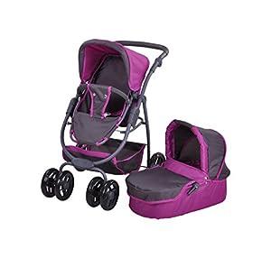 Knorrtoys 90782muñeca Carro Coco Tec Purple