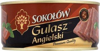 Sokołów Frühstücksfleisch Gulasz Angielski///Gulasz Angielski 300 g