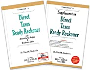 Taxmann's Direct Taxes Ready Reckoner with Supplement – Including Case Studies on Mode of TCS Recovery, Altern