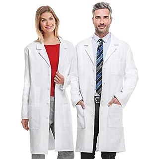 AllRight White Lab Coat Doctor's Coat Unisex Size XXL