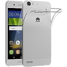 "Funda Huawei P8 Lite Smart, AICEK Protector Huawei P8 Lite Smart Funda Transparente Gel Silicona Huawei P8 Lite Smart Premium Carcasa para P8 Lite Smart 5.0"""