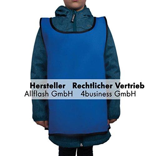 Preisvergleich Produktbild Sportüberwurf blau Größe small für Kinder