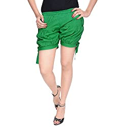 Soundarya Womens Regular Fit Pants (HP2, Green)