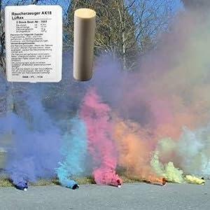 Björnax AB AX-18 Lot de 5 fumigènes Couleurs différentes