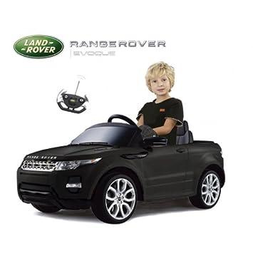 Range Rover Evoque Licensed Electric Kids Ride On Car Black