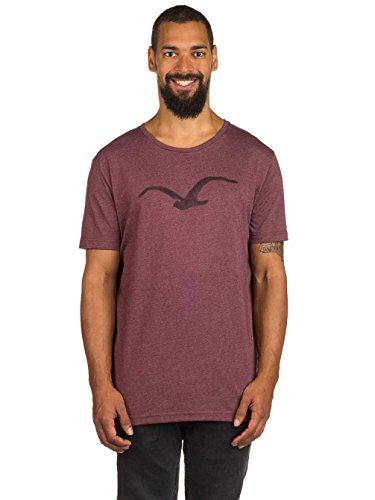 Cleptomanicx T-Shirt PASTELL MÖWE multicolour heather tawny port