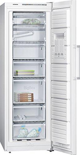 Siemens GS33VVW31 iQ300 Gefrierschrank / A++ / 176,00 cm Höhe / 204 kWh/Jahr / 0 l Kühlteil / 220 l Gefrierteil / Aufklappbares Gefrierfach