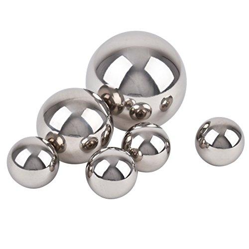 10cm Kugel Ball Deko Edelstahl silber geb/ürstet Gartendeko Objekt