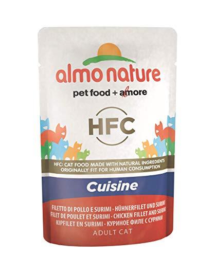 Almo Nature pâtée pour Chat Classique Cuisine Filet de Poulet et