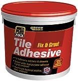 Everbuild Fix & Grout Tile Adhesive 703 500ml/750g EVBFIX005