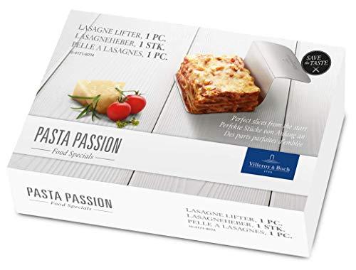 Villeroy & Boch Pasta Passion Lasagneheber, 13,5x9x5,5 cm, Edelstahl