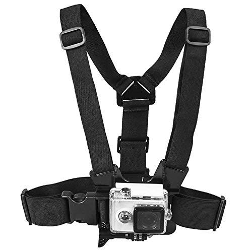 ¡Libera tus manos para capturar videos y fotos increíbles con nuestro Topmener Chest Mount!Caracteristicas:Completamente ajustable para todas las formas y tamaños: la correa de la cintura se ajusta de 25 pulgadas (floja) a 67 pulgadas (en estiramient...