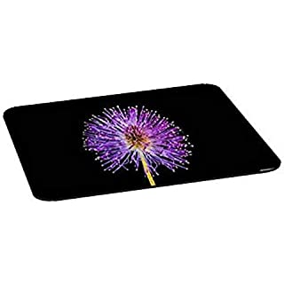 Moden Fashion Design Mouse Pad Smooth Mouse Mat Aero/Black Weird Flower Mousepad for Worker