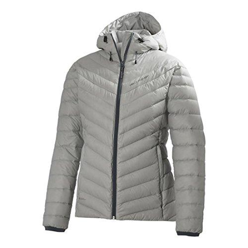 Helly Hansen Damen Jacke W Verglas Hooded Down Insulato Grau (Grey)