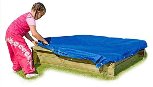 Gartenpirat Sandkasten Tim mit Abdeckplane blau