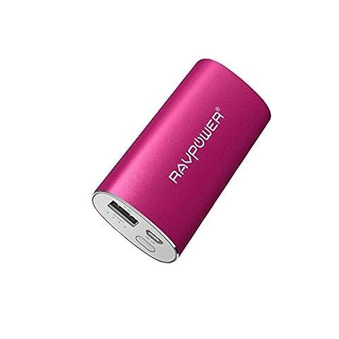 Chargeur De Secours Iphone - Chargeur Portable Universel 6700mAh RAVPower (Sortie USB