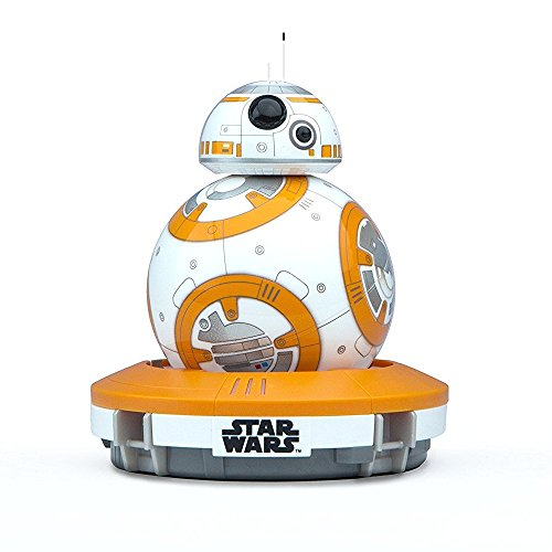Foto Sphero BB-8 Droide Interattivo Star Wars, Luci LED Incluse, Portata Bluetooth fino a 30 Metri, Compatibile iOS, Android e Windows Phone