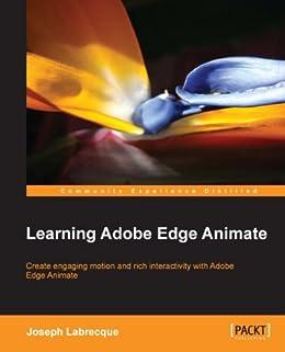 Learning Adobe Edge Animate by [Labrecque, Joseph]