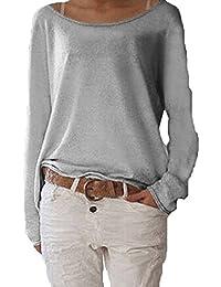 online store d034f 37816 Suchergebnis auf Amazon.de für: oversize bluse - Grau ...