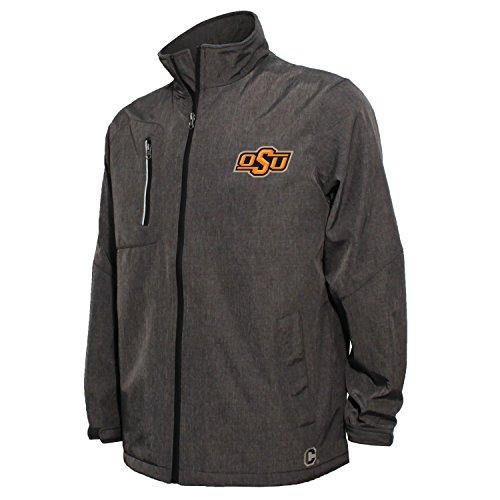 Preisvergleich Produktbild NCAA Herren Jacke Bonded Stehkragen Stadium,  herren,  Bonded Stand Up Collar Stadium Jacket,  dunkelgrau,  XX-Large
