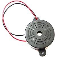 AERZETIX: Zumbador sonoro para luces olvidados o intermitentes de coche 3-24V 6V 12V 100dB 41.5 x 16mm