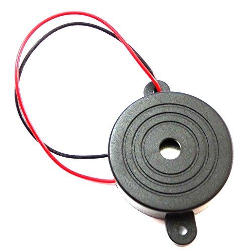 Preisvergleich Produktbild Aerzetix - Summer Buzzer für vergessen Scheinwerfer Kontrollleuchte Blinker akustisches oder Vorrichtung 3-24V 6V 12V 100dB 41.5 x 16mm