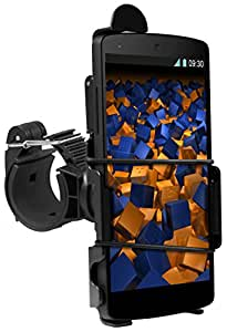 mumbi Système de fixation sur guidon Google Nexus 5 de Vélo / Moto - sécurité totale en portrait / paysage