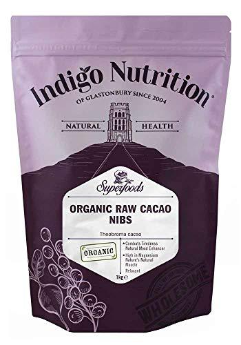 Indigo Herbs Organic Raw Cacao Nibs 1kg