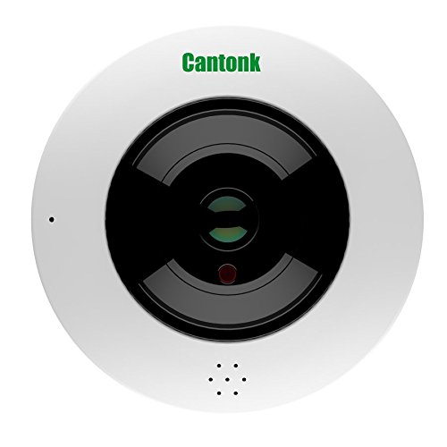 Cantonk IPDE20H600 - Kamera Fish-Eye 360° Panorama, Ultra HD (4.6 Megapixel), Sensor SONY Starvis, WLAN + PoE, MicroSD Slot, H.265, H.264, ONVIF (Slot Sensor)