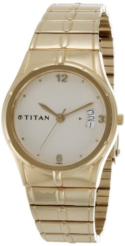 41mABfK5vbL - Titan ND9314YM02A Karishma Gold Mens watch