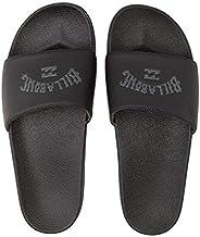 Billabong Men's Poolslide Corp Slide Sandal, Black, 9 Regula