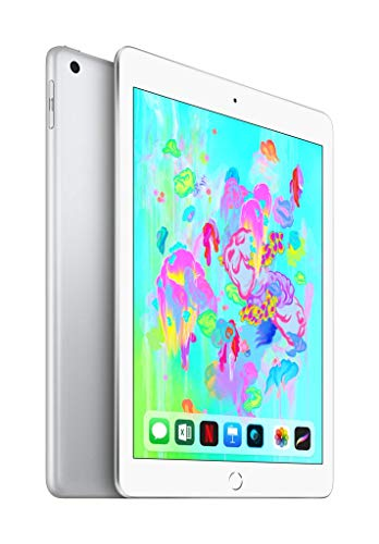 Apple iPad (Wi‑Fi + Cellular, 128GB) - Silber - Facetime Wi
