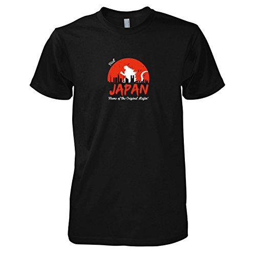TEXLAB - Visit Japan - Herren T-Shirt, Größe XL, schwarz