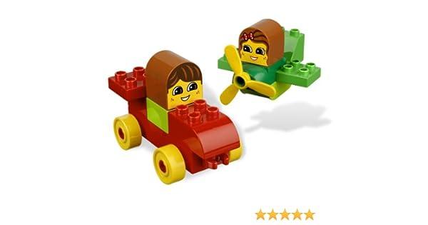 NEW LEGO 6760 DUPLO READ /& BUILD LET/'S GO VROOM!
