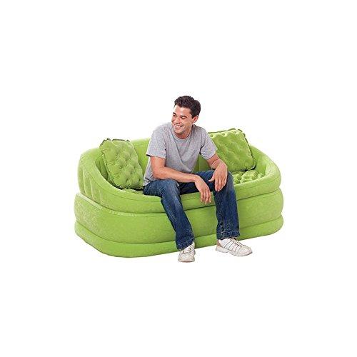 INTEX Airbed Divano Colorato Loveseat con Cuscini cm.157x86x69 68573