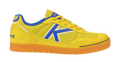 Kelme - Trueno Sala, Scarpe da calcio Unisex – Adulto Giallo (giallo)