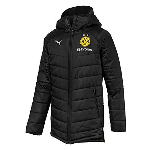 PUMA Herren BVB Bench with Sponsor Logo Jacke Black, XXL Preisvergleich