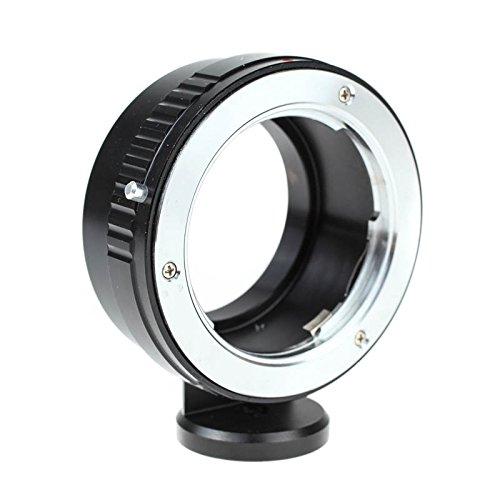 Quenox Objektivadapter (Adapter, Adapterring) mit Standfuß für Minolta SR Objektiv (MD/MC) an Sony E-Mount Kamera - z.B. für Sony Alpha a6000 a5100 a5000 a3000 NEX-7 NEX-6 NEX-5T NEX-5N NEX-5R NEX-5 NEX-3 NEX-3N NEX-F3 NEX-C3 VG900 VG30 VG20 VG10 FS700 (Stativ Nex Für 5n Sony)